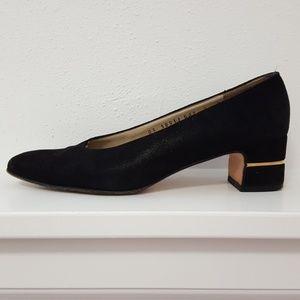 Salvatore Ferragamo Vintage Black Heels